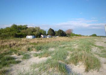 Møn Camping, Hårbølle Beach